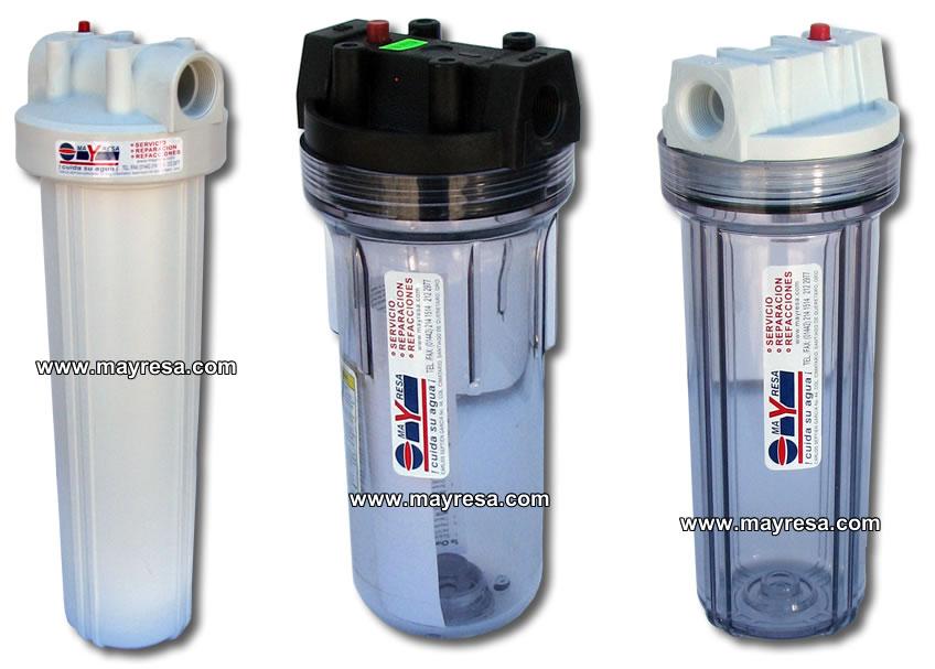Filtros para agua sistemas de filtracion de agua portacartuchos porta cartuchos filtros - Filtros para grifos de agua ...
