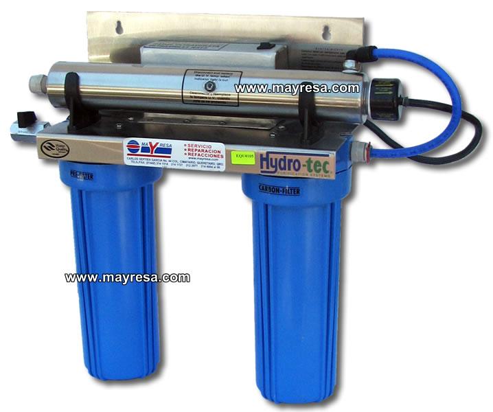 Purificadores tratamientos y equipos para agua for Purificadores de agua domesticos